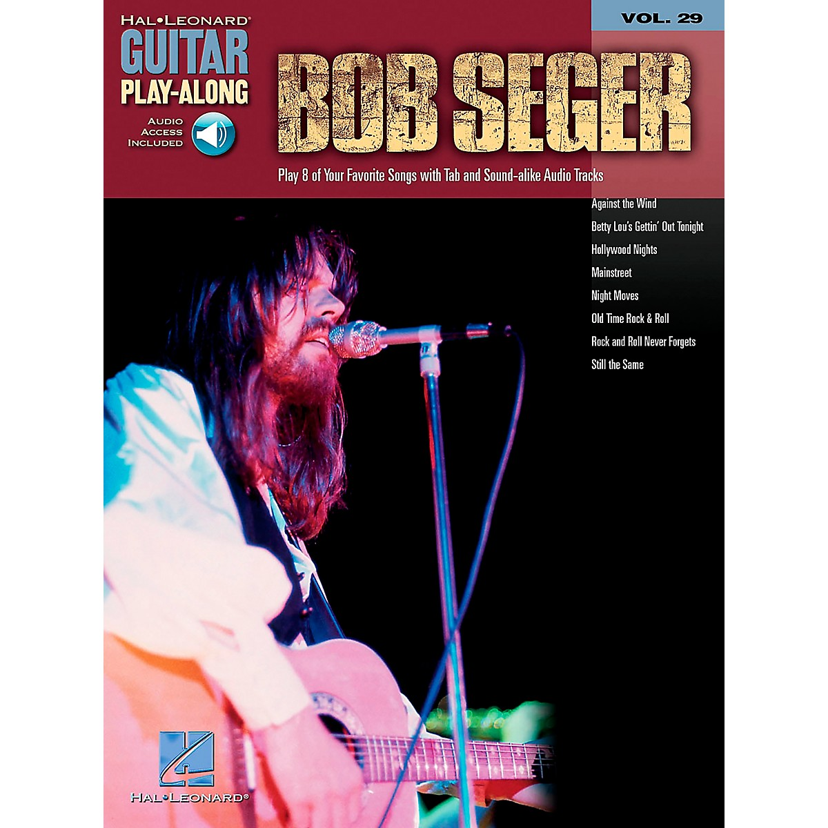 Hal Leonard Bob Seger Guitar Play-Along Series Book with CD