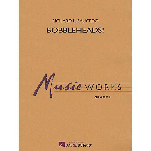 Hal Leonard Bobbleheads! - MusicWorks Grade 1 Concert Band