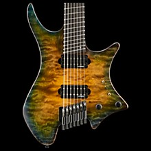 Strandberg Boden 7 Private Stock Electric Guitar Green/Yellow