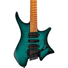 Boden Fusion Neck-Thru Electric Guitar Trans Teal