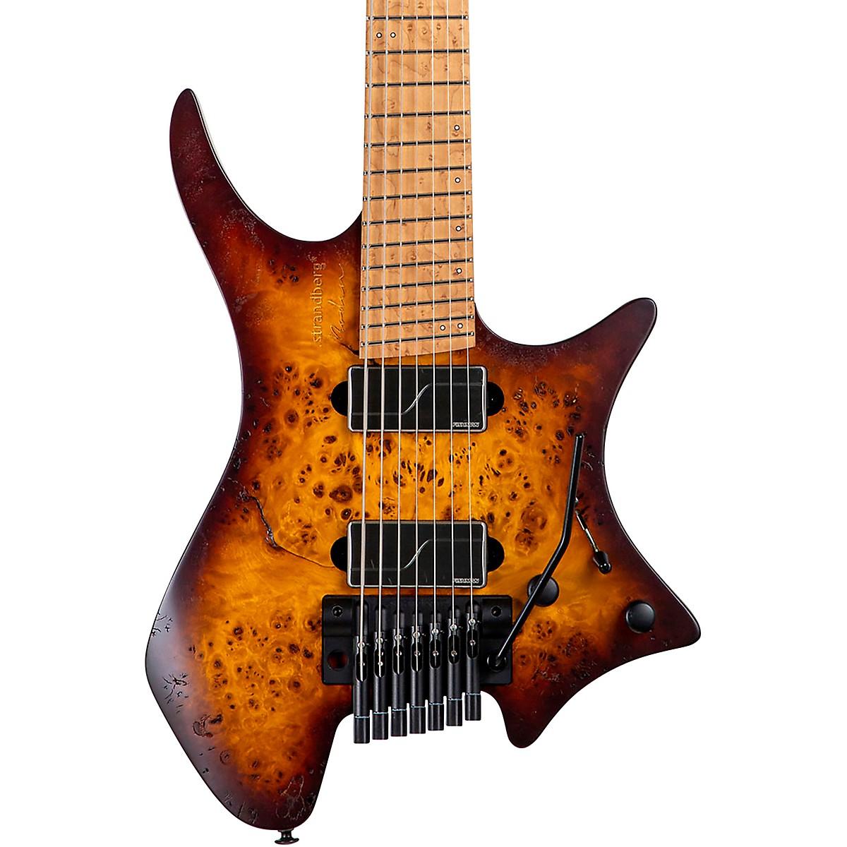 Strandberg Boden Original 7 Trem Poplar Burl Electric Guitar