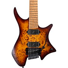 Boden Original 7 Trem Poplar Burl Electric Guitar Vintage Burst