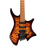 Boden Standard 6 Tremolo Electric Guitar Bengal Burst Quilt