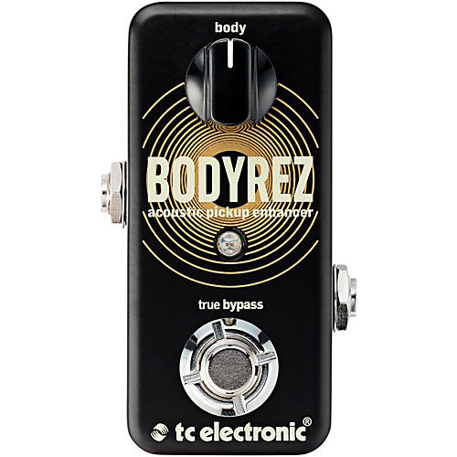 TC Electronic BodyRez Acoustic Enhancer Guitar Effects Pedal