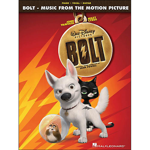 Hal Leonard Bolt - Music From The Motion Picture Soundtrack arranged for piano, vocal, and guitar (P/V/G)
