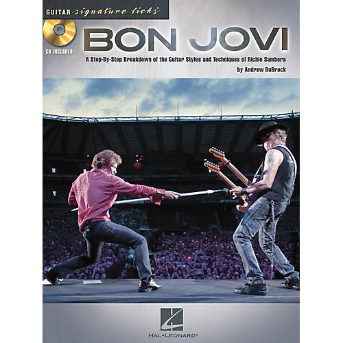 Hal Leonard Bon Jovi Guitar Signature Licks Book/CD