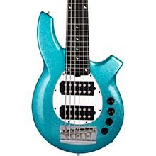 Bongo 6 HH 6-String Bass Aqua Sparkle