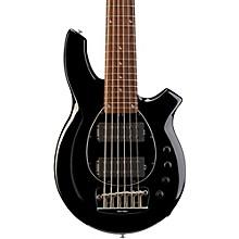 Ernie Ball Music Man Bongo 6 HH Bass Level 1 Black Black Pickguard