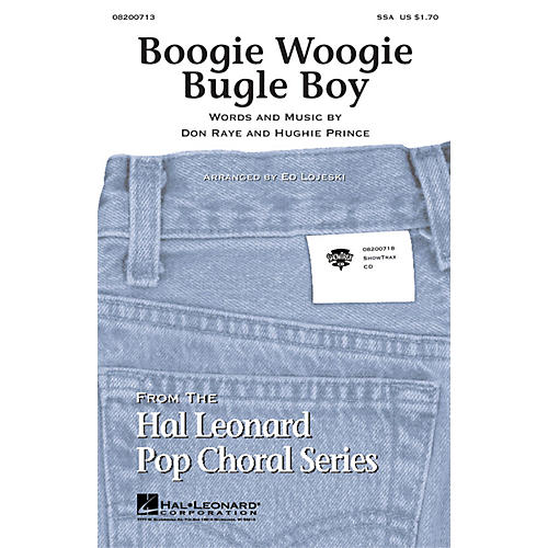 Hal Leonard Boogie Woogie Bugle Boy SSA