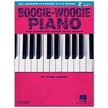 Hal Leonard Boogie-Woogie Piano  The Complete Guide Book/Online Audio from Hal Leonard Keyboard Style Series
