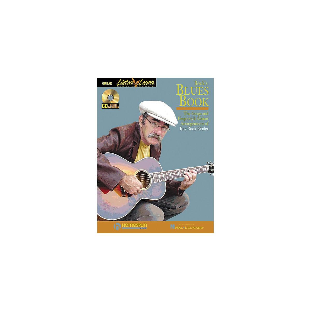 Homespun Book's Blues Book (Book/CD)