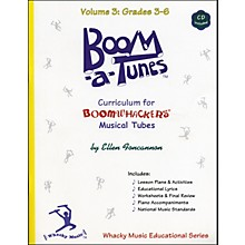 Boomwhackers Boom-A-Tunes Curriculum Volume 3 (Book/CD)