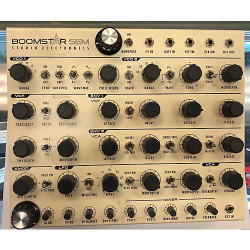 used se electronics boomstar sem synthesizer guitar center. Black Bedroom Furniture Sets. Home Design Ideas