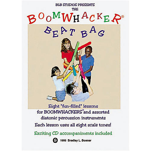 Rhythm Band Boomwhacker Beatbag Book/CD