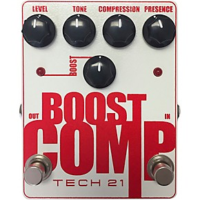 tech 21 boost comp tone shaping guitar effects pedal guitar center. Black Bedroom Furniture Sets. Home Design Ideas