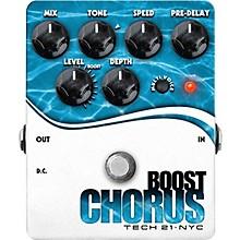 Tech 21 Boost Chorus Guitar Effects Pedal