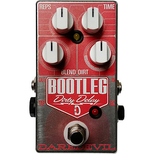 Daredevil Pedals Bootleg Dirty Delay Effects Pedal