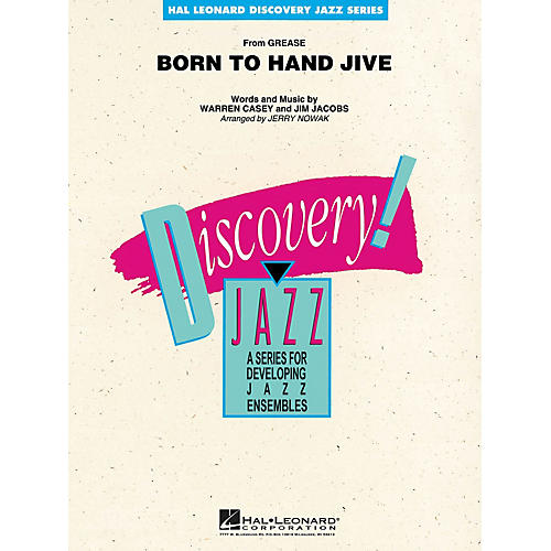 Hal Leonard Born to Hand Jive Jazz Band Level 1-2 Arranged by Jerry Nowak