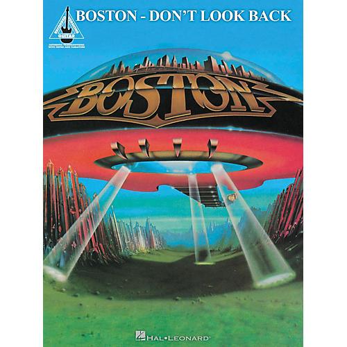 Hal Leonard Boston - Don't Look Back Guitar Recorded Version Songbook