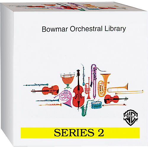 Alfred Bowmar Orchestral Library 12-CD Box Set Series 2