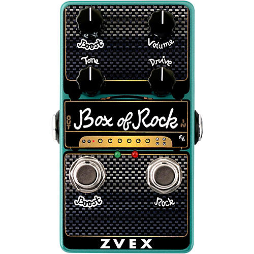 Zvex Box of Rock Vertical Overdrive Effects Pedal