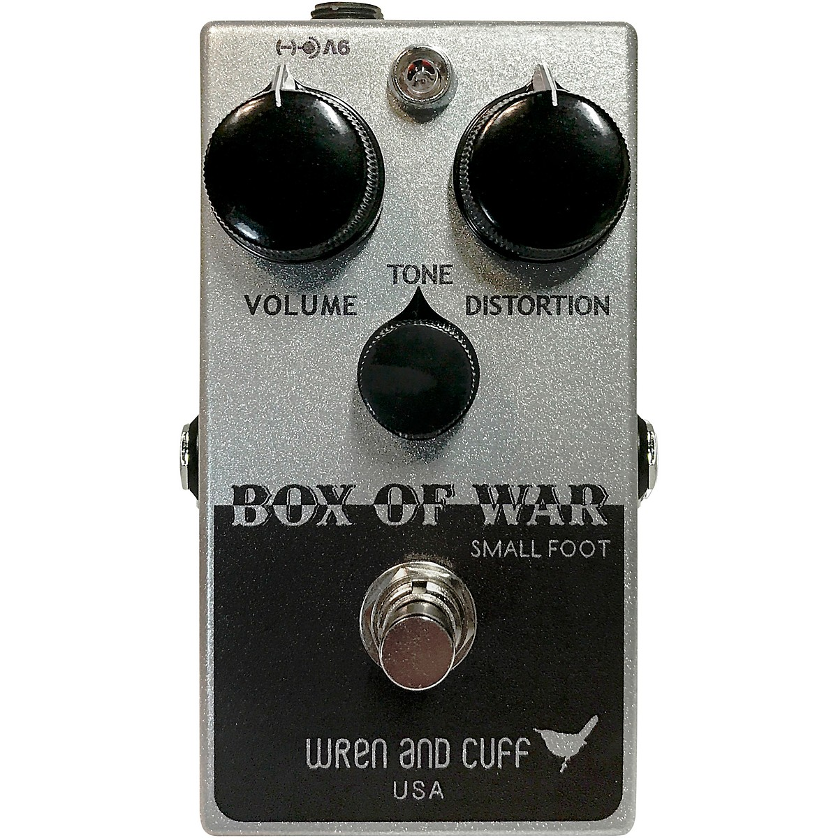 Wren And Cuff Box of War Small Foot Fuzz Effects Pedal