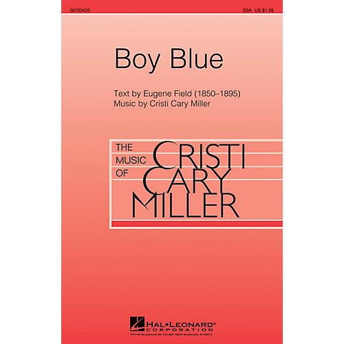 Hal Leonard Boy Blue SSA composed by Cristi Cary Miller