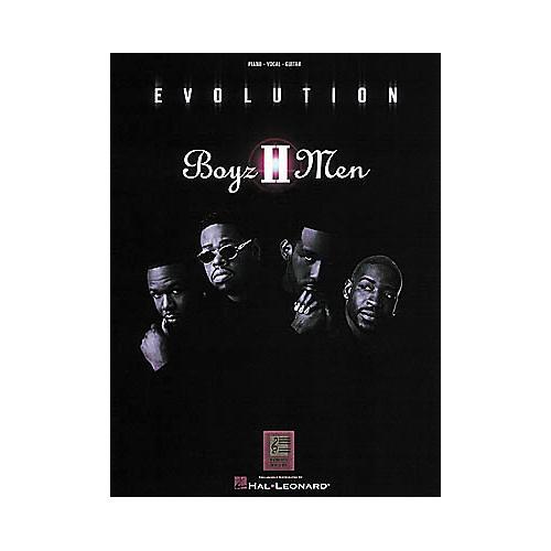 Hal Leonard Boyz II Men - Evolution Piano, Vocal, Guitar Songbook