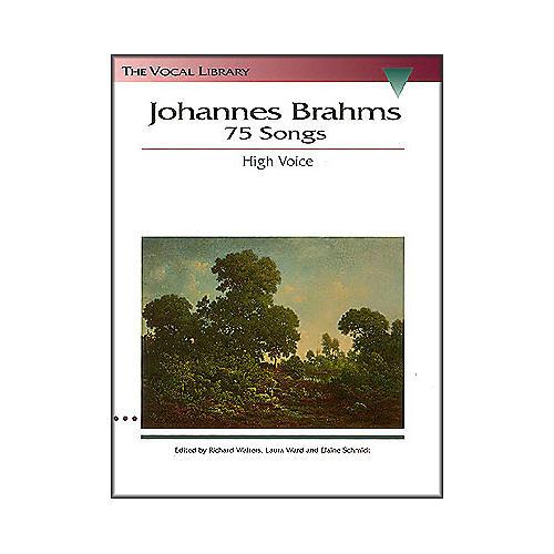 Hal Leonard Brahms - 75 Songs for High Voice
