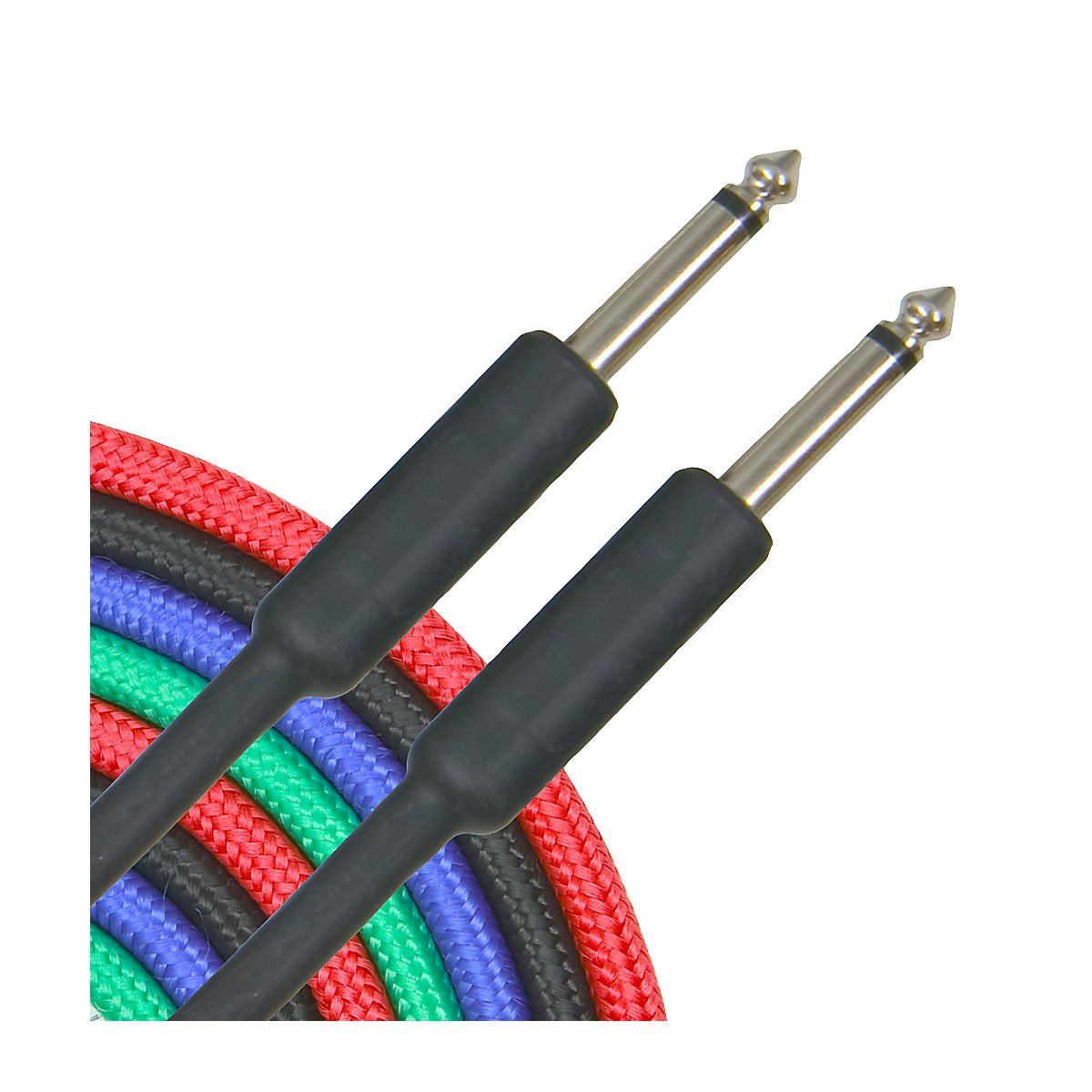 Musician's Gear Braided Instrument Cable 1/4