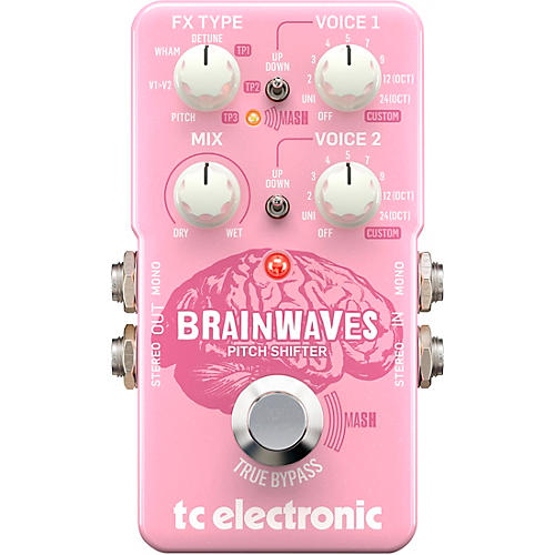 TC Electronic Brainwaves Pitch Shifter Effects Pedal