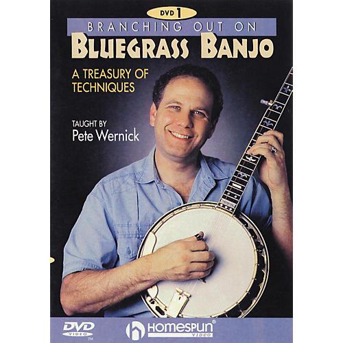 Homespun Branching out on Bluegrass Banjo 1 (DVD)