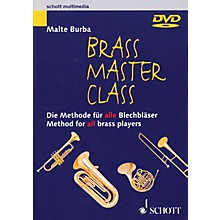 Schott Brass Master Class (Method for All Brass Players DVD (NTSC)) Brass Series DVD  by Malte Burba