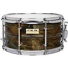 Pork Pie Brass Patina Snare Drum