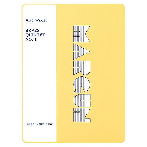 Margun Music Brass Quintet No. 1 Shawnee Press Series by Alec Wilder
