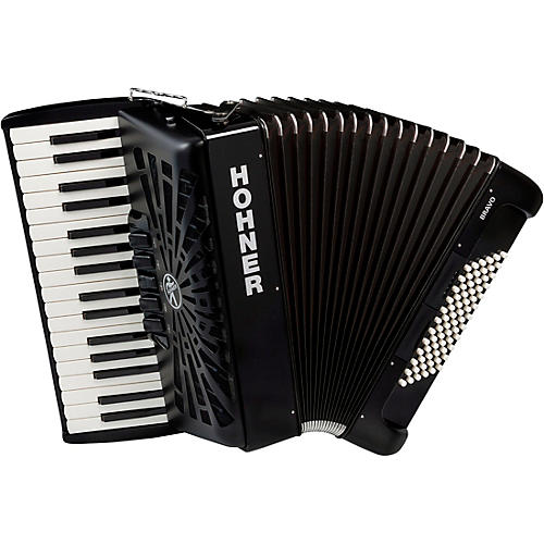 Hohner Bravo III 72 Accordion with Black Bellows