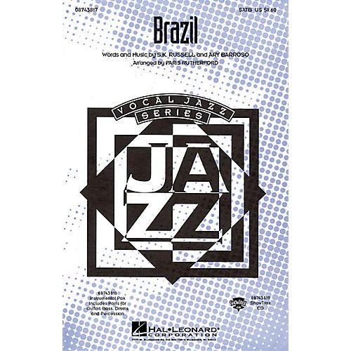 Hal Leonard Brazil IPAKR Arranged by Paris Rutherford