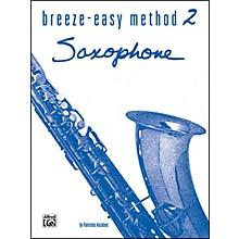 Alfred Breeze-Easy Method for Saxophone Book II