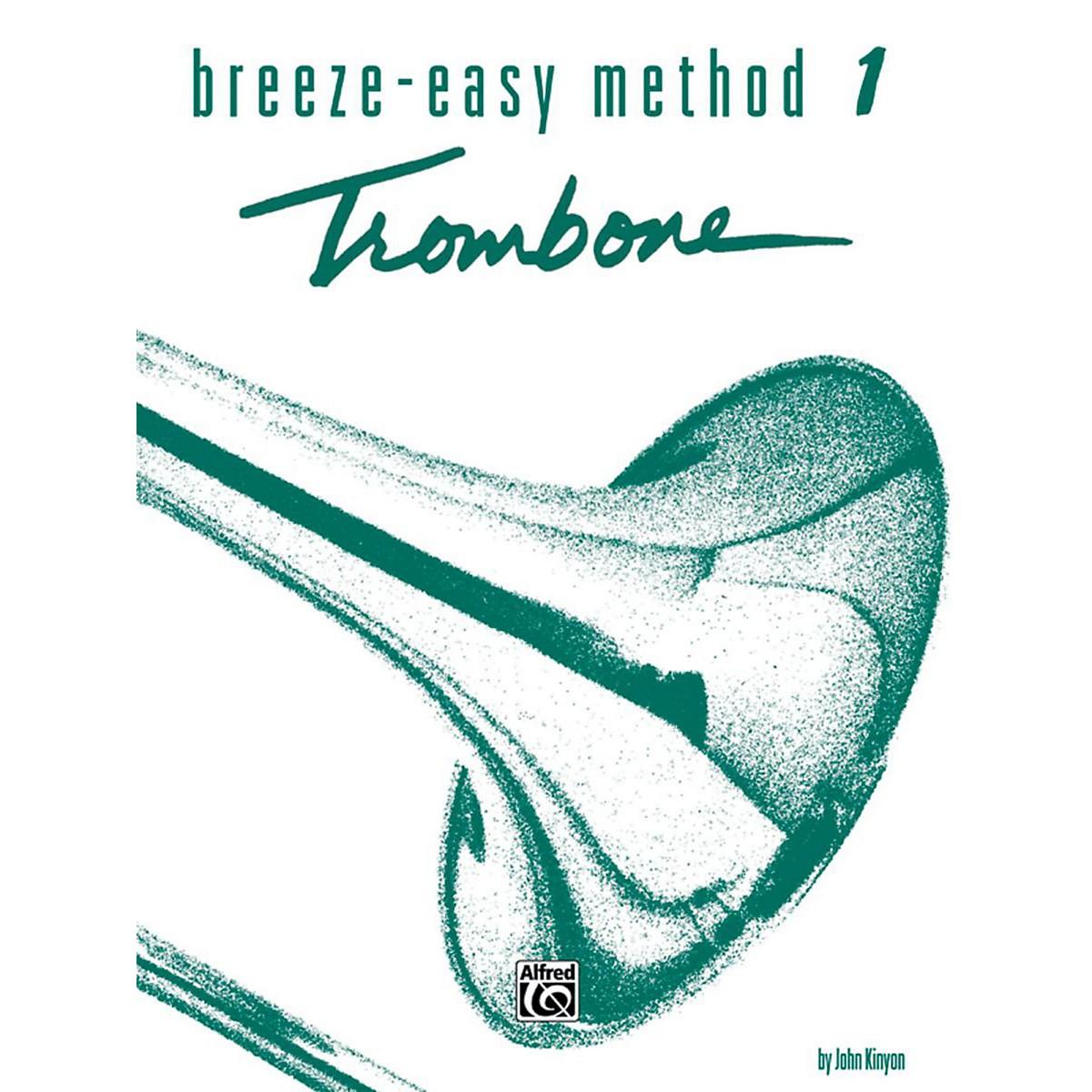 Alfred Breeze-Easy Method for Trombone or Baritone Book I
