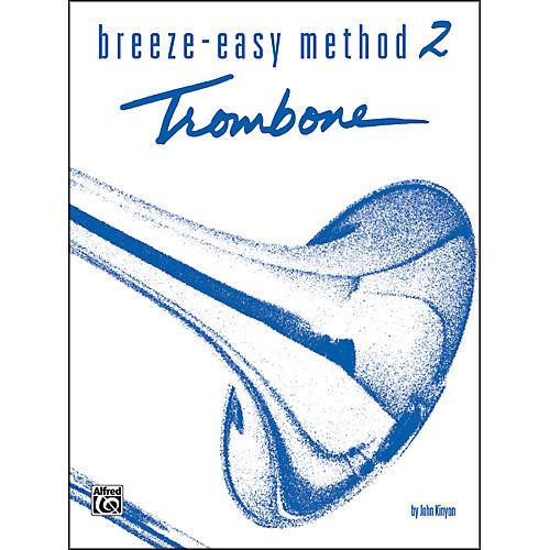 Alfred Breeze-Easy Method for Trombone or Baritone Book II