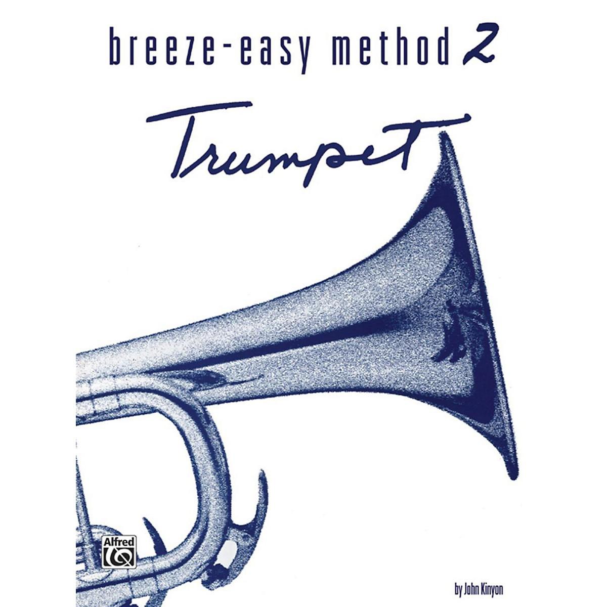 Alfred Breeze-Easy Method for Trumpet (Cornet) Book II