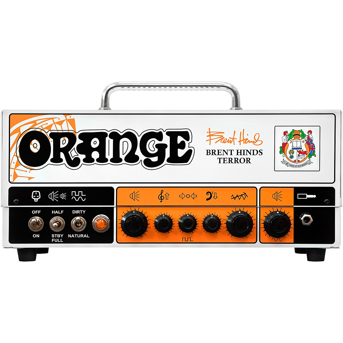 Orange Amplifiers Brent Hinds Terror 15W Tube Guitar Amp Head