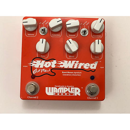 Wampler Brent Mason Hot Wired Overdrive Effect Pedal