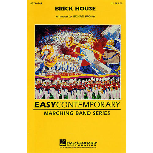 Hal Leonard Brick House Marching Band Level 2 Arranged by Michael Brown