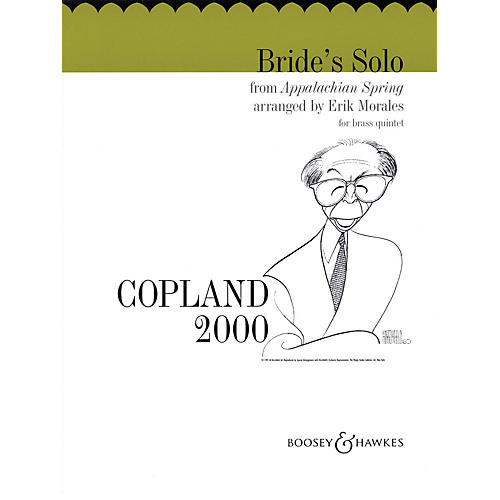 Boosey and Hawkes Bride's Solo from Appalachian Spring Boosey & Hawkes Chamber Music Series by Aaron Copland