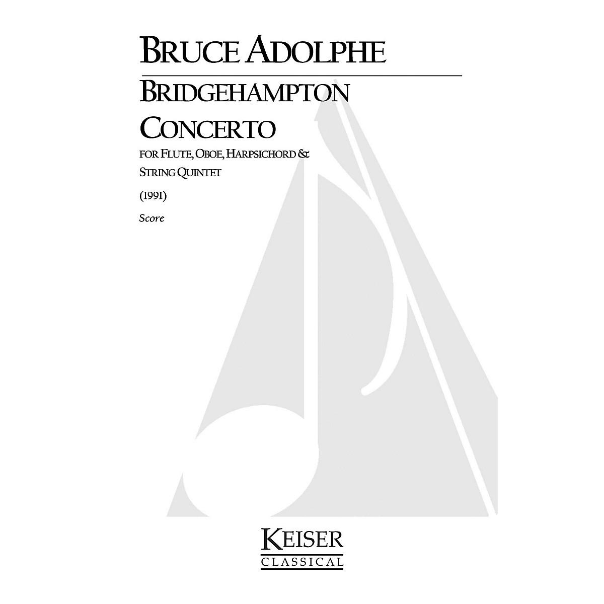Lauren Keiser Music Publishing Bridgehampton Concerto for Mixed Octet, Full Score LKM Music Series by Bruce Adolphe