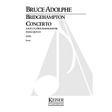 Lauren Keiser Music Publishing Bridgehampton Concerto for Mixed Octet, Full Score LKM Music Series by Bruce Adolphe