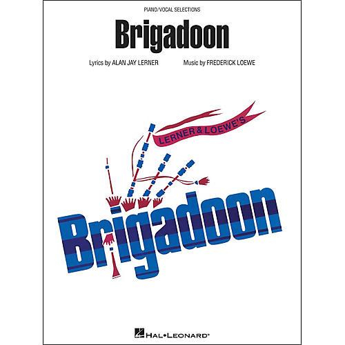 Hal Leonard Brigadoon arranged for piano, vocal, and guitar (P/V/G)