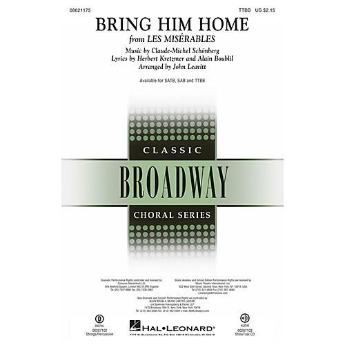 Hal Leonard Bring Him Home (from Les Misérables) TTBB arranged by John Leavitt