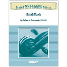 Alfred British March Conductor Score 1